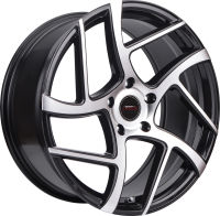 Blade - Black Machined Face - 18 x 8, 19 x 8.5 Front, 19 x 9.5 Rear, 20 x 9