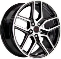 Chicane - Black Machine Face - 18 x 8
