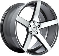 Claw - Gun Metal Machined Face - 18 x 8 Front, 18 x 9 Rear, 19 x 8.5 Front, 19 x 9.5 Rear, 20 x 9 Front, 20 x 10.5 Rear