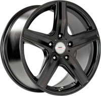Finn - Satin Black - 17 x 8