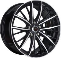 Iconic - Black Machined Face - 17 x 7.5, 18 x 8