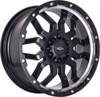 Mudzilla - Satin Black Machine Lip - 17 x 7.5