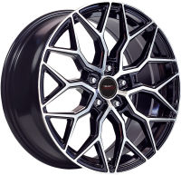 Scar - Black Machined Face - 20 x 8