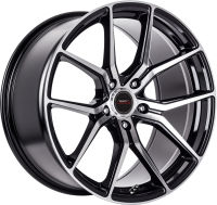 Velocity - Black Machined Face - 18 x 8, 18 x 8 Front, 18 x 9 Rear, 19 x 8.5 Front, 19 x 9.5 Rear